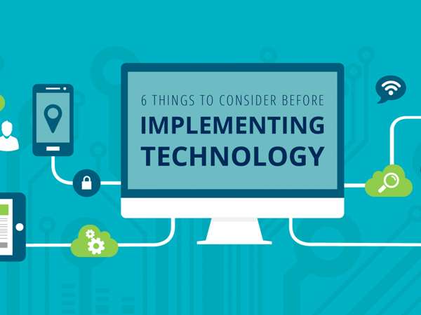 The Six Steps to Implementing New Technology into Your Insurance or Financial Services Firm