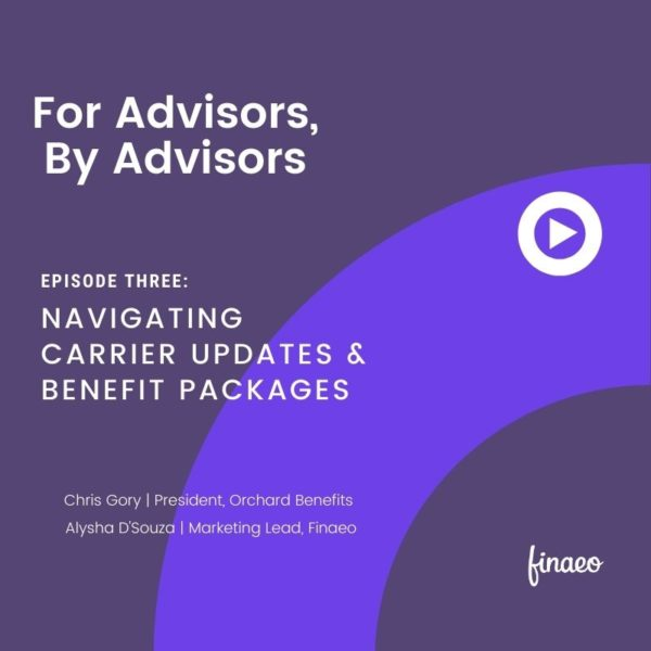Finaeo - Carrier Updates and Benefits
